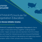 Stevens Initiative Announces Support for Game Changers in Education Program